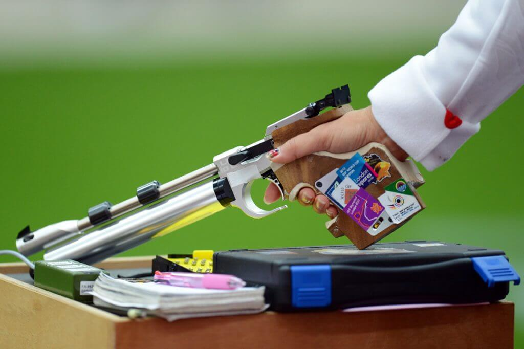 Olympic Pistol Shooting