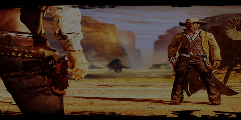 digital gun fight quick draw wild west
